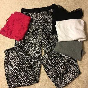 Pants - Topshop wens silky flow pants